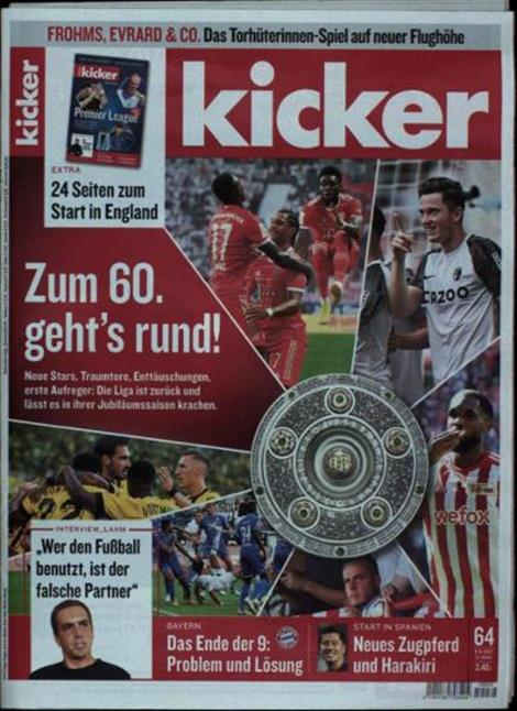 Cover des Kicker