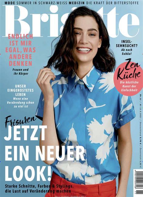 Das Cover der Zeitschrift Brigitte