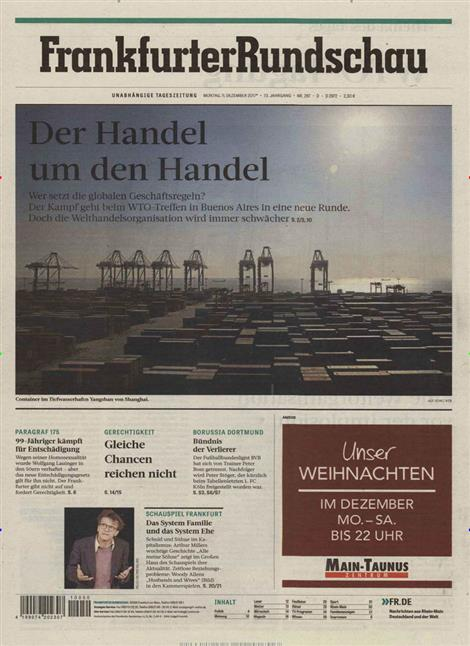 Frankfurter-Rundschau-Abo