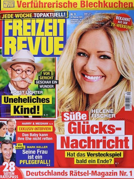 Das Cover der Freizeit Revue