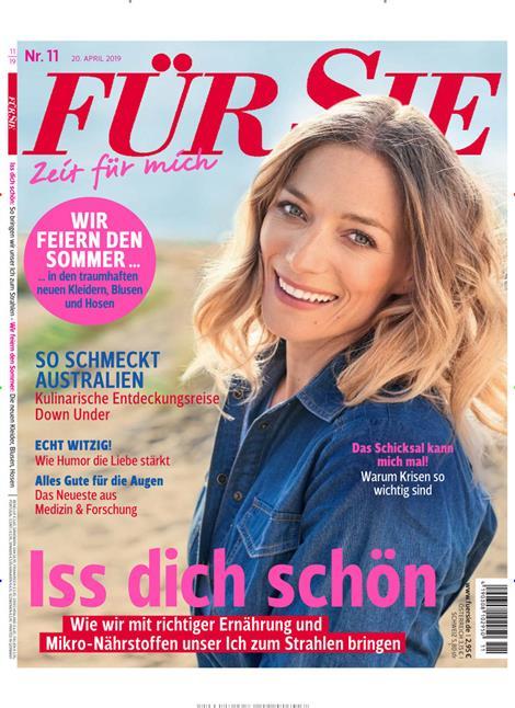 Cover der Zeitschrift Für Sie