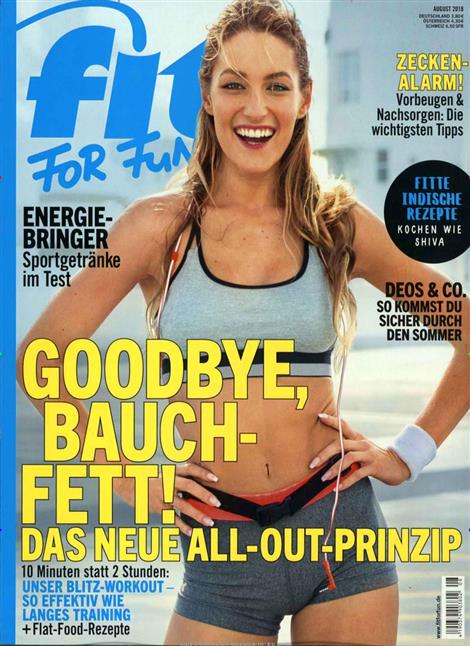 Cover der Fit for Fun