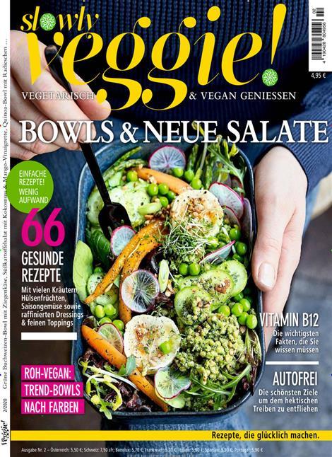 Slowly Veggie 2/2020 Cover