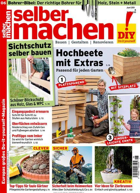 selber machen abo selber machen probe abo selber machen geschenkabo bei presseplus. Black Bedroom Furniture Sets. Home Design Ideas