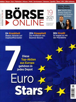 Das Cover der Zeitschrift Börse Online