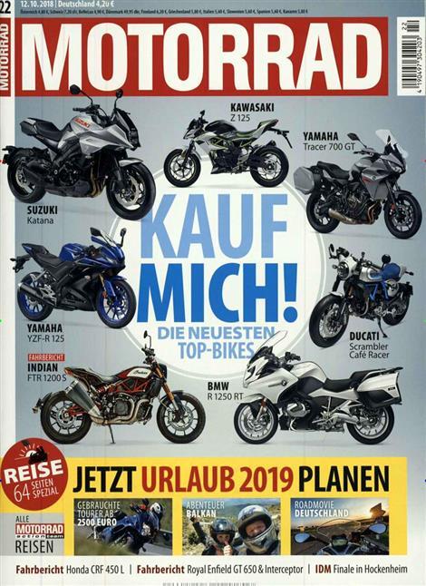 Motorrad-Abo