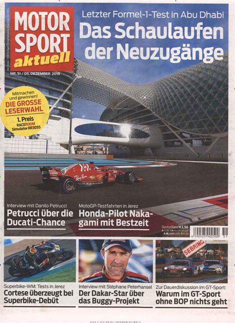 Motorsport-Aktuell-Abo