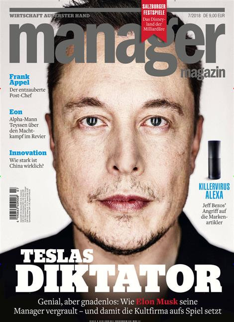 Cover manager Magazin
