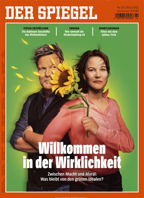 Das Cover der Zeitschrift Der Spiegel