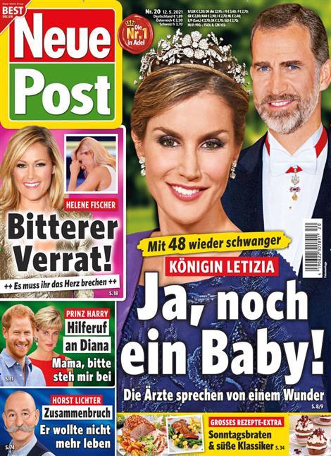 Das Cover der Zeitschrift Neue Post