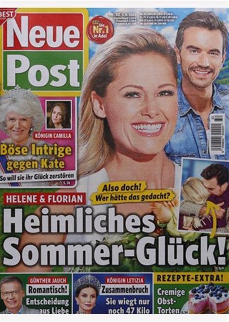 Cover der Promizeitschrift Neue Post