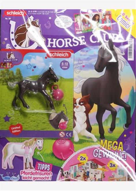 Cover des Magazins Horse Club