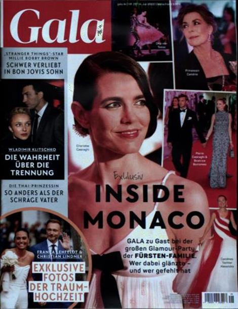Cover der Promizeitschrift Gala