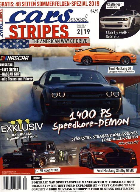 Cars Stripes Magazin Abo Cars Stripes Magazin Probe Abo