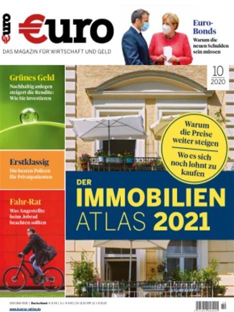 Das aktuelle Cover von Euro – Das Magazin für Wirtschaft und Geld