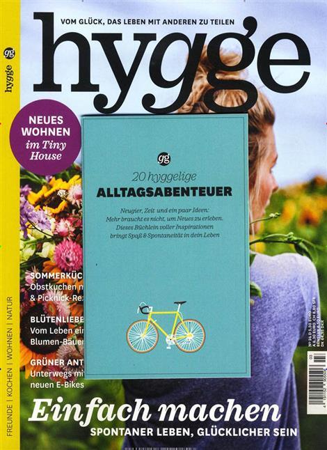 Das Cover der Zeitschrift Hygge