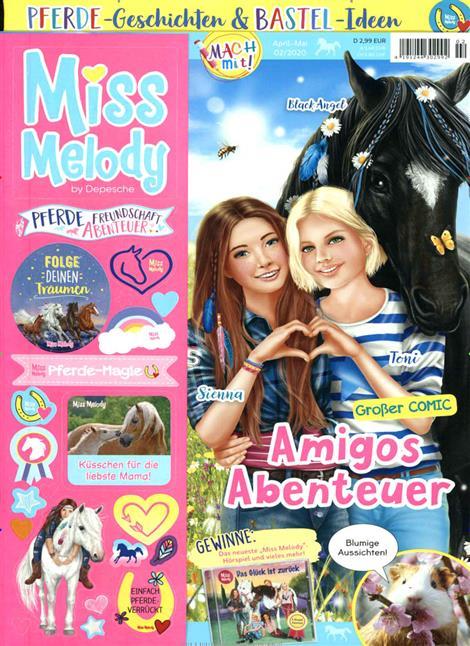 Cover der Zeitschrift Miss Meldody