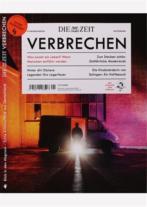 Cover der Zeit Verbrechen