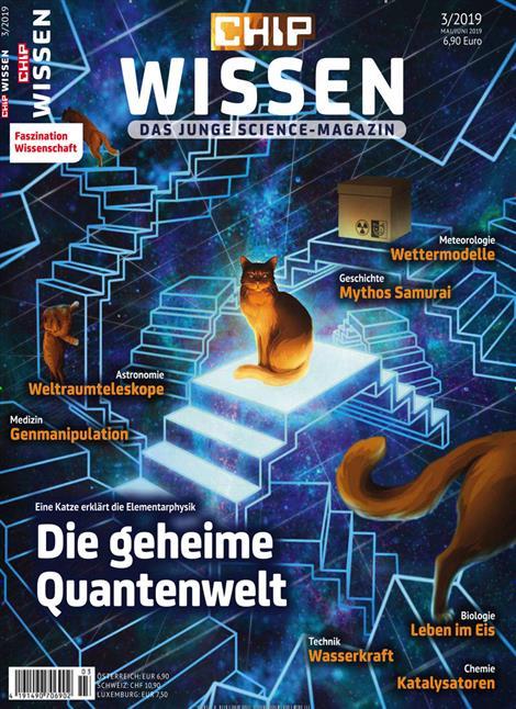 Chip Wissen - Die geheime Quantenwelt Cover