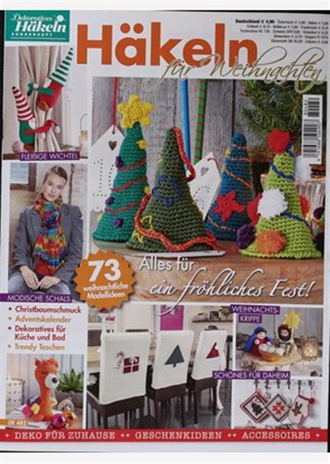 Dekoratives Häkeln Häkeln Für Weihnachten Abo Dekoratives