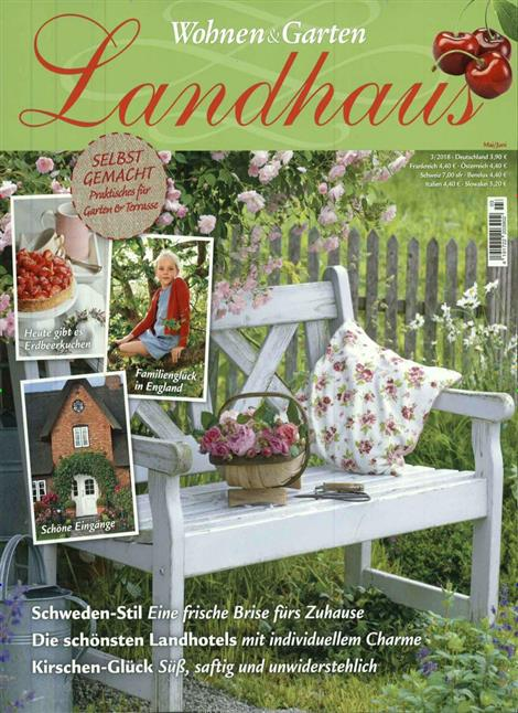 Wohnen Garten Landhaus Zeitschrift wohnen garten landhaus abo wohnen garten landhaus probe