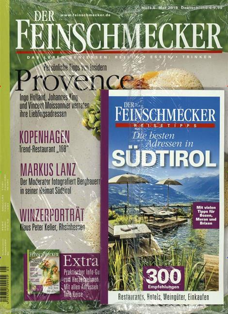 Cover des Magazins der Feinschmecker