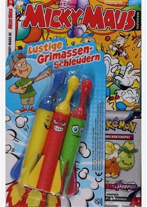 Cover der aktuellen Micky Maus