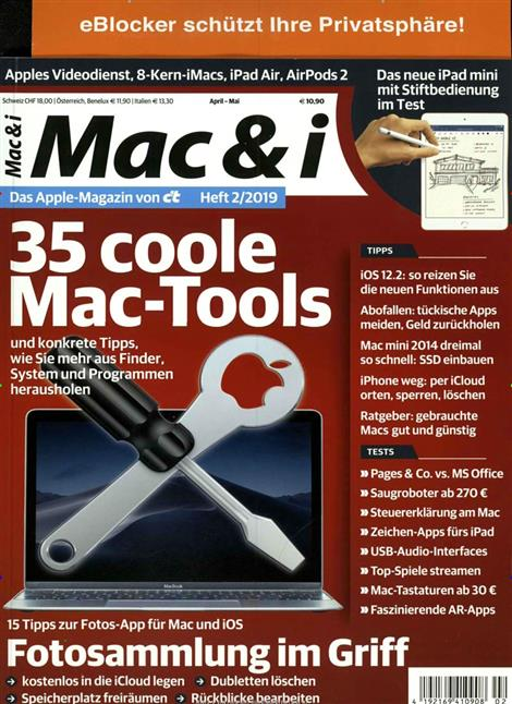Cover des Magazins Mac & i