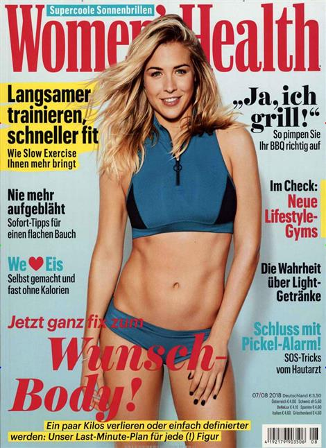 Cover der Die Women´s Health