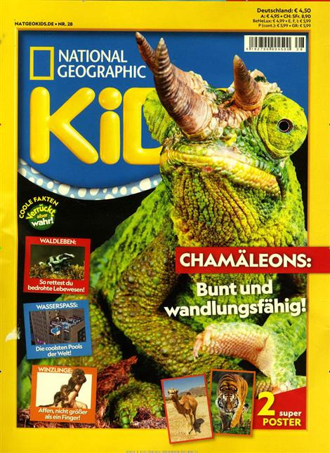 Cover des Magazins National Geografic Kids