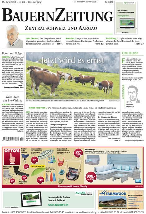 BauernZeitung-Zentralschweiz-Abo