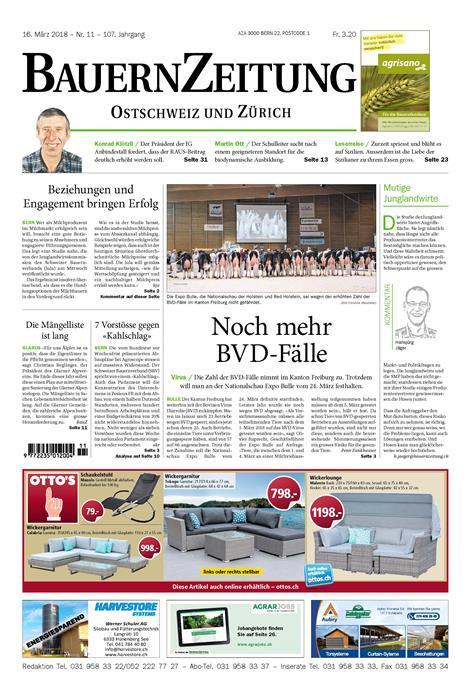 BauernZeitung-Ostschweiz-Abo