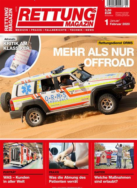 Rettungsmagazin-Abo
