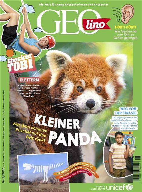 Cover des Magazins GEOlino