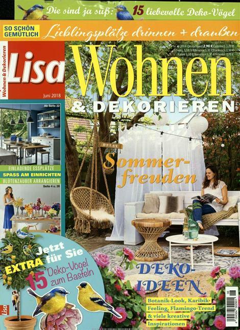 lisa wohnen dekorieren abo lisa wohnen dekorieren probe abo lisa wohnen dekorieren. Black Bedroom Furniture Sets. Home Design Ideas