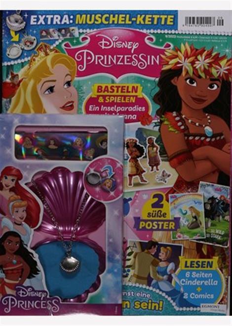 Cover der Disney Prinzessin