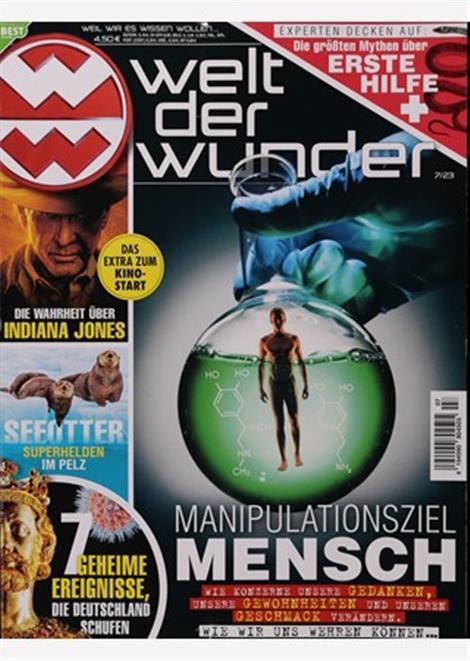 Cover des Magazins Welt der Wunder