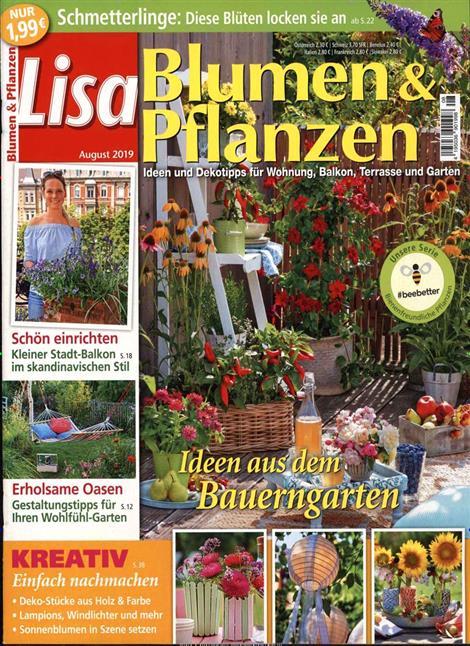 Beliebt Bevorzugt ▷ Lisa Blumen & Pflanzen Abo ▷ Lisa Blumen & Pflanzen Probe-Abo @CB_73