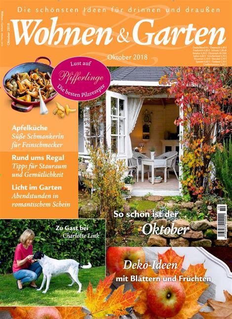 Wohnen & Garten 2018/10 Cover