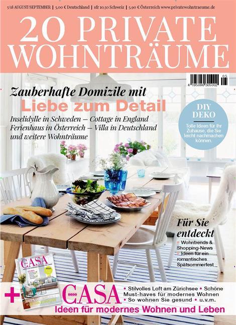 ▷ 20 Private Wohnträume Abo ▷ 20 Private Wohnträume Probe-Abo ...