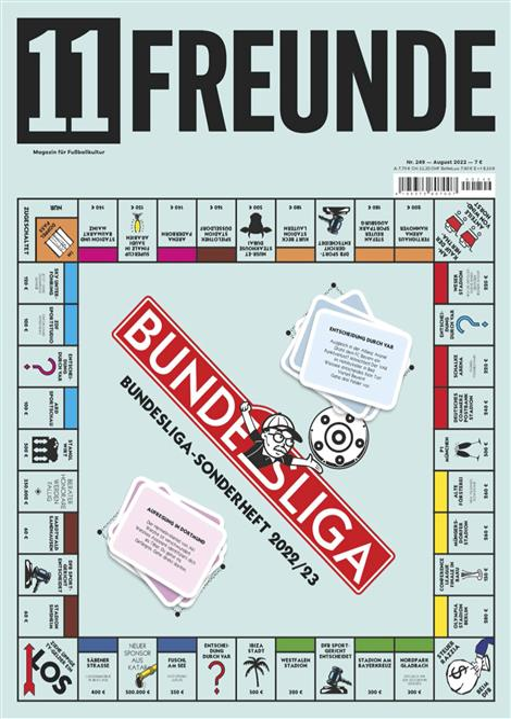 Cover des Magazins 11 Freunde