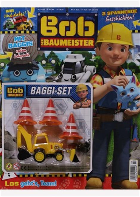Cover der aktuellen Zeitschrift Bob der Baumeister