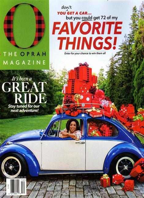 O - The Oprah Magazine Cover
