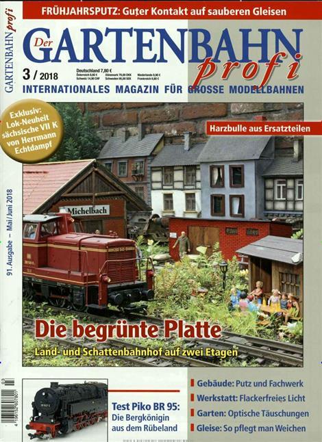 Gartenbahnprofi-Abo