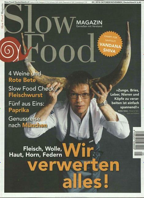 slow food magazin abo slow food magazin probe abo slow. Black Bedroom Furniture Sets. Home Design Ideas