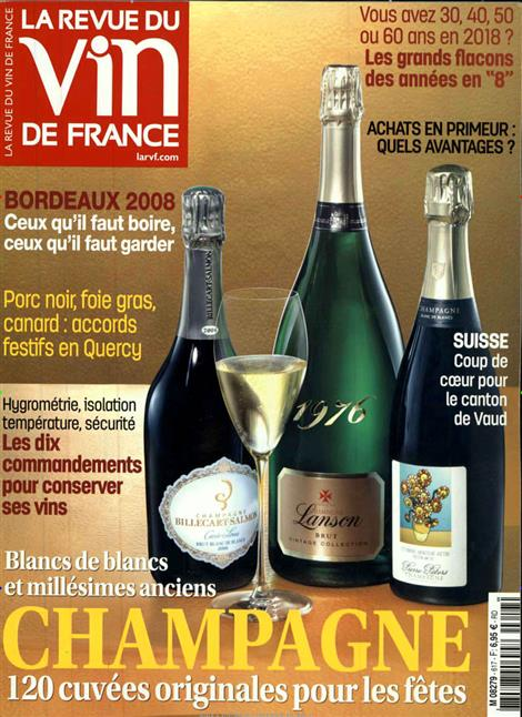 Revue du vin de france abo revue du vin de france probe for Revue des vins de france