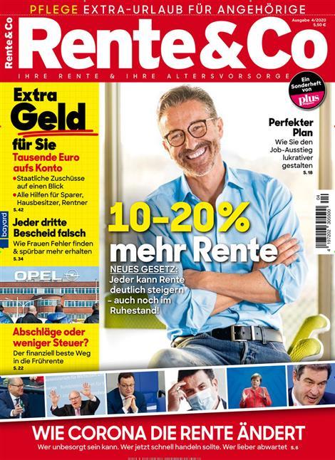 Das aktuelle Cover von Rente & Co