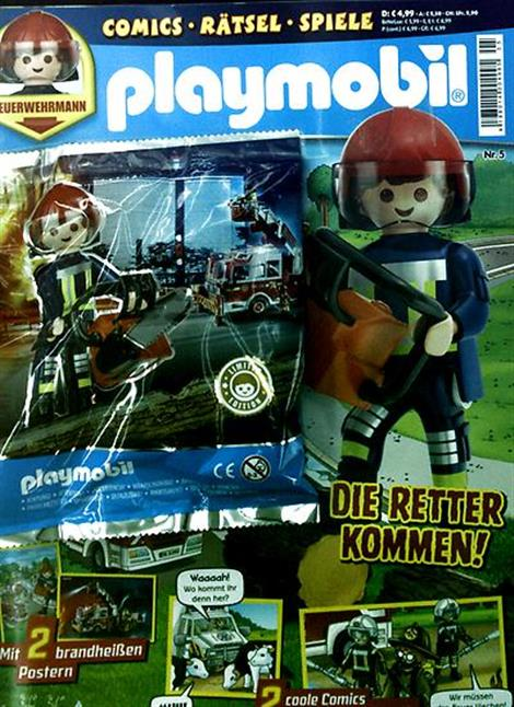 Cover des Magazins Playmobil