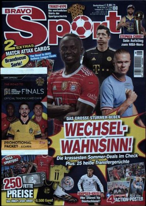 Cover der Bravo Sport