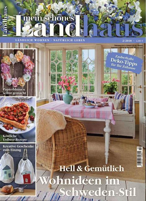 Schönes Landleben Zeitschrift mein schönes landhaus abo mein schönes landhaus probe abo
